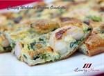Crispy Wakame Prawn Omelette