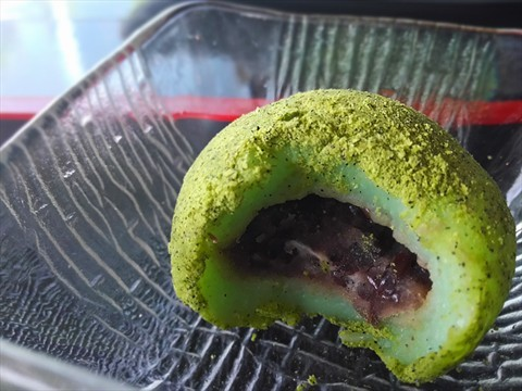 Check out the red bean filling