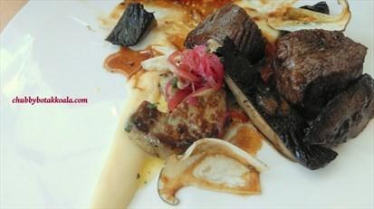 Foie Gras with Wagyu Tender
