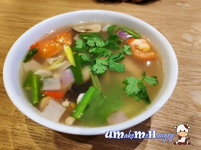 Clear Tom Yam Soup 冬炎清汤 - $7